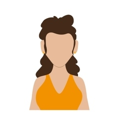 Woman icon Avatar female design graphic vector image
