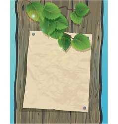 Wood paper fon 380 vector