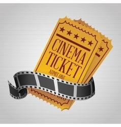Movie icon design vector image