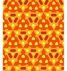 orange yellow brown color abstract geometric vector image