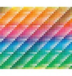 CMYK colors palette vector image