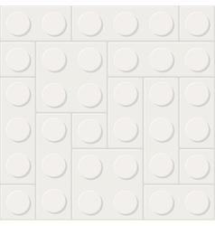 Construction blocks vector image vector image