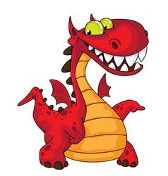 great dragon vector image vector image