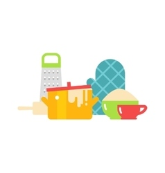 Kitchenware isolated vector image