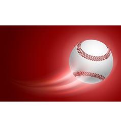 Baseball card vector image