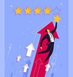 Best rating and evaluation vector