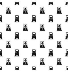 bowling ball pattern seamless vector image