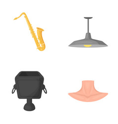 concert ecology medicine and other web icon in vector image vector image