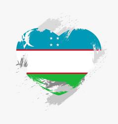 Flag of uzbekistan vector
