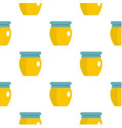 honey liquid bank pattern flat vector image