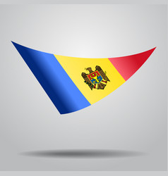 Moldovan flag background vector