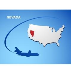 Nevada vector image