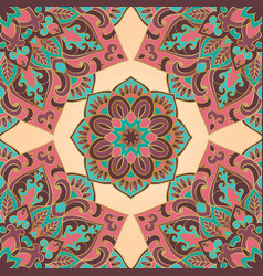 pattern of mandalas vector image