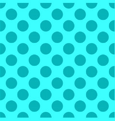 Simple seamless circle pattern background vector