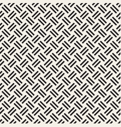 Trendy monochrome twill weave lattice abstract vector