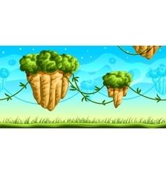 Futuristic Game Background vector image