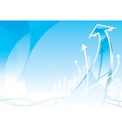 Growth Arrow vector image vector image