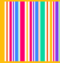 Abstract seamless rainbow color stripes line vector