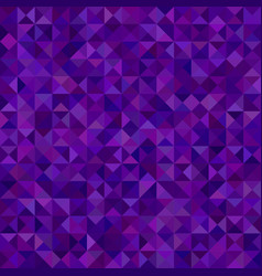 Abstract triangle tiled mosaic background vector