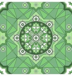 Arabic Embossed vintage classic seamless geometric vector