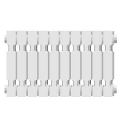 modern home radiator icon realistic style vector image