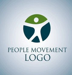 PEOPLE MOVEMENT LOGO 2 vector