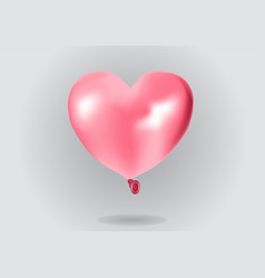 Pink air balloon vector