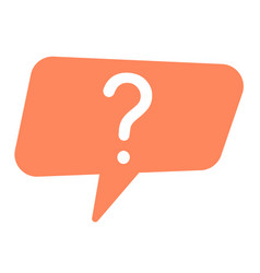 Question mark icon interest logo important vector