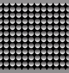 simple industrial perforated surface pattern vector image