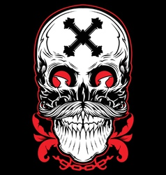 Skull graphic vector