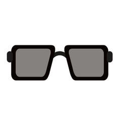 sunglasses square frame icon image vector image