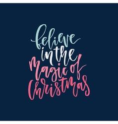 Unique Christmas Lettering vector
