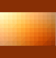 abstract red orange colorful lowploly of many vector image