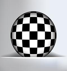 Check Globe Slit Background vector image vector image