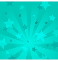 Abstract background with stars and rays vector