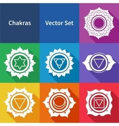 Chakras vector image