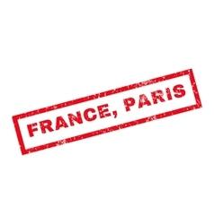 France paris rubber stamp vector