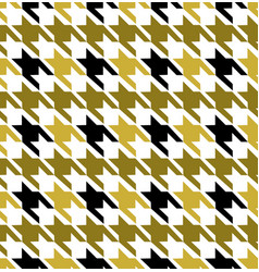 Hounds tooth seamless pattern vector