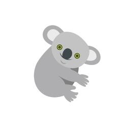 Koala icon flat style vector
