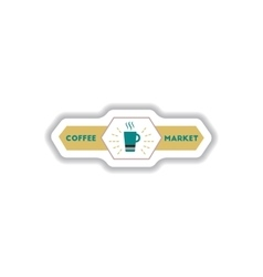 Label Frames and badges icon design vector image vector image