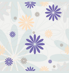 pastel colors seamless pattern vector image