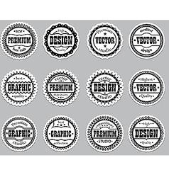 Set icons Premium design graphic vector image vector image