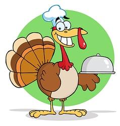 Cartoon turkey vector image vector image
