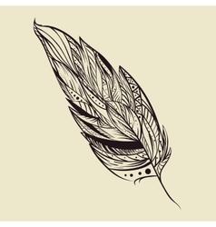 art boho style icon vector image