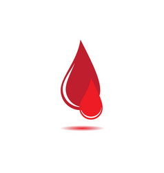 Blood icon design vector