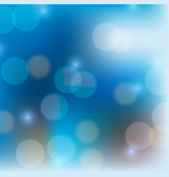 Blue background with bright light in round shapes vector