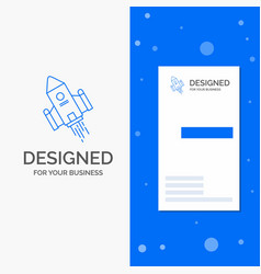 Business logo for space craft shuttle space vector