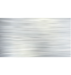 gray brushed metal texture or background vector image