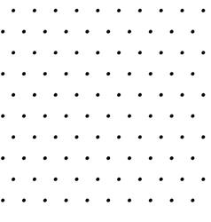 Hand Drawn Ink Polka Dot Pattern vector image