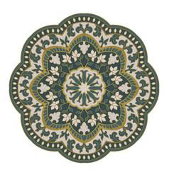 Oriental mandala vector